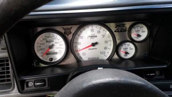 1987 Merkur XR4Ti with a Coyote V8