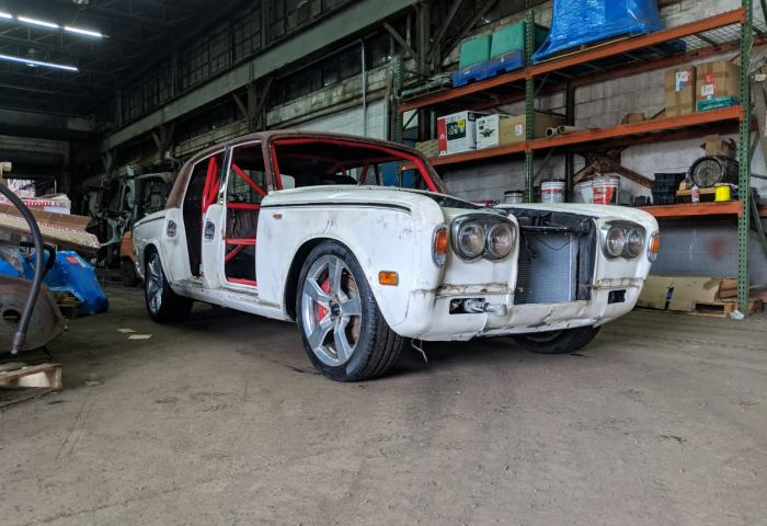 1977 Rolls Royce Silver Shadow With A Srt 10 V10 Engine Swap Depot