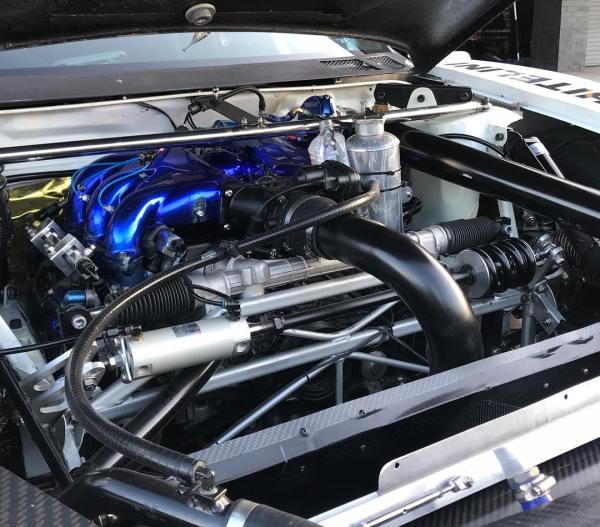 AFP Subaru Impreza WRX with a turbo 3.6 L EG33 flat-six