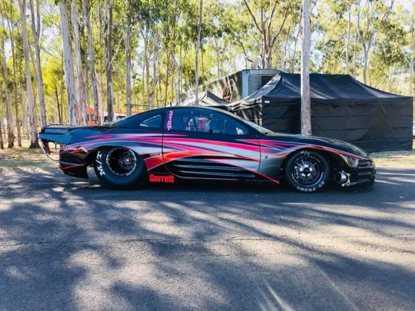 Mitsubishi Eclipse with a twin-turbo billet 4G63 inline-four