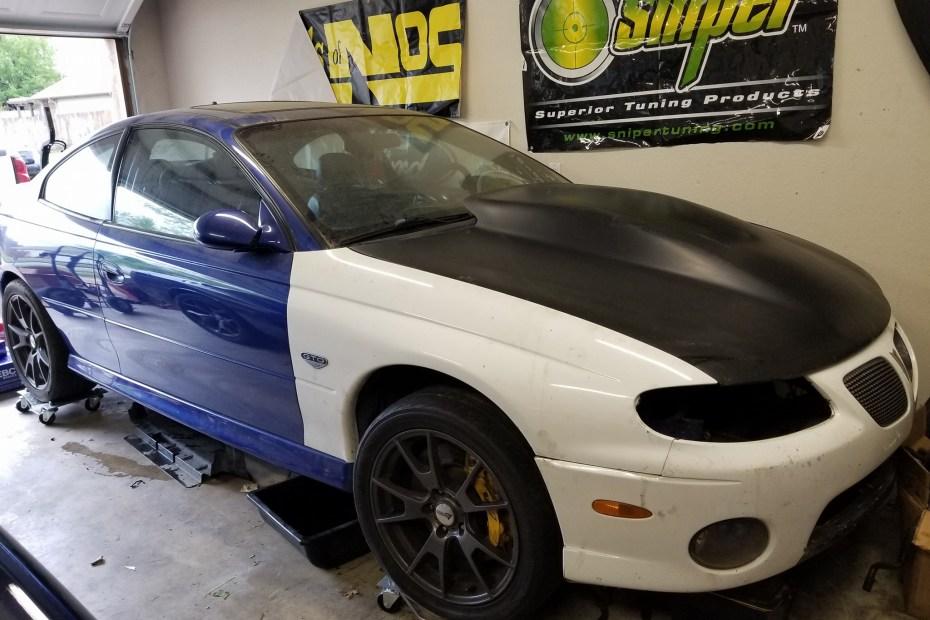 2005 Pontiac GTO with a Turbo Hemi V8