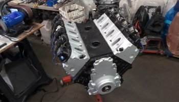 1977 Mini with a Supercharged LSx V8 – Part 1 – Engine Swap