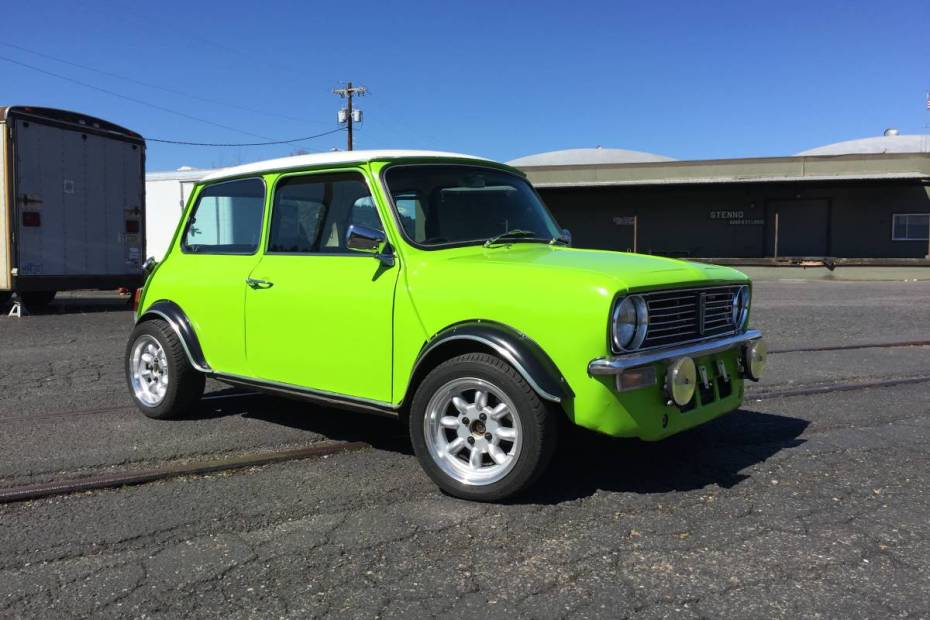 Mini with a Peugeot diesel inline-four