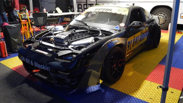 Nissan S13 with a turbo Barra inline-six