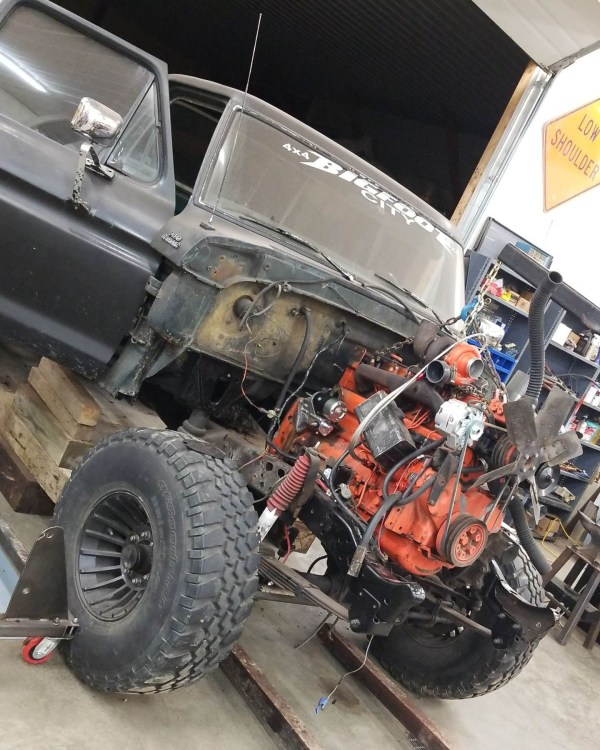 1978 Ford F-250 with an Allis-Chalmers turbo diesel inline-six