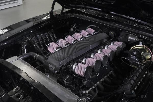 1969 Camaro with a 8.2 L LSx V12