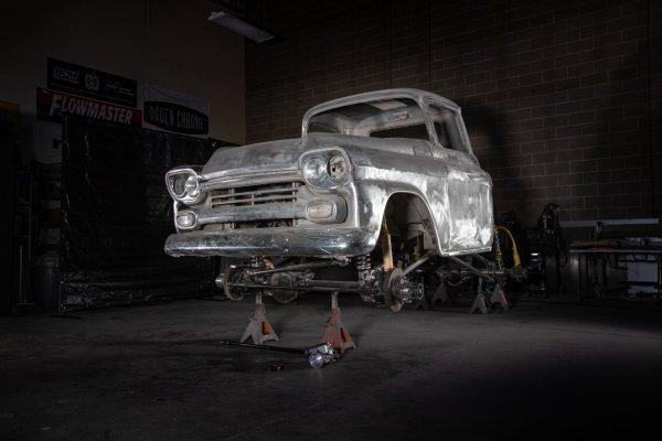 1959 Chevrolet Apache with a Duramax Turbo Diesel V8