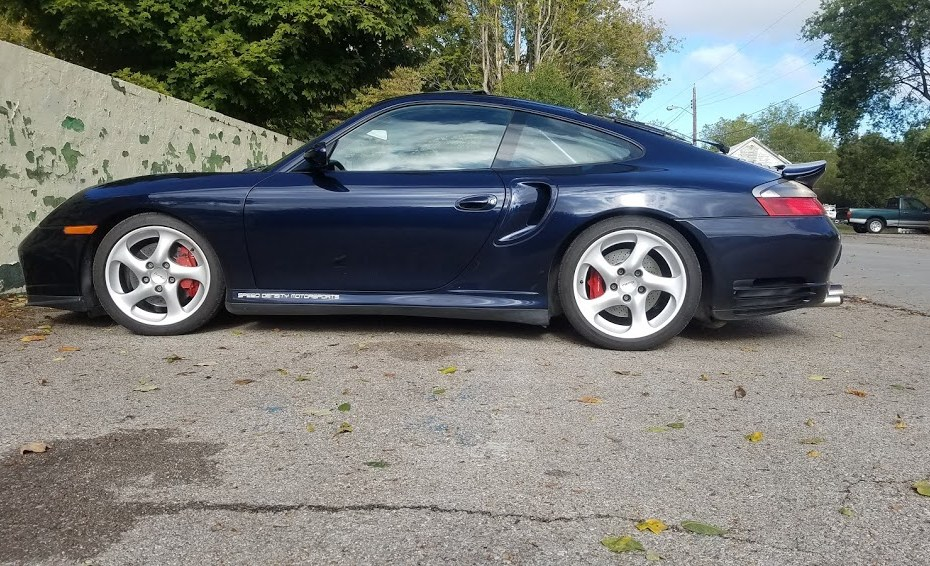 2001 Porsche 996 with a Turbo VR6