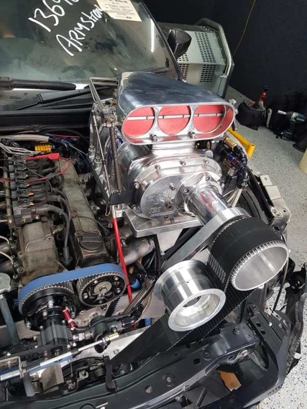 2017 Toyota 86 with a Supercharged 2JZ inline-six