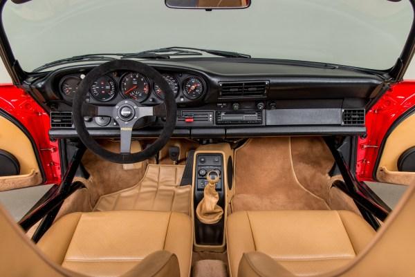 1989 Porsche 911 with a twin-turbo 962 flat-six