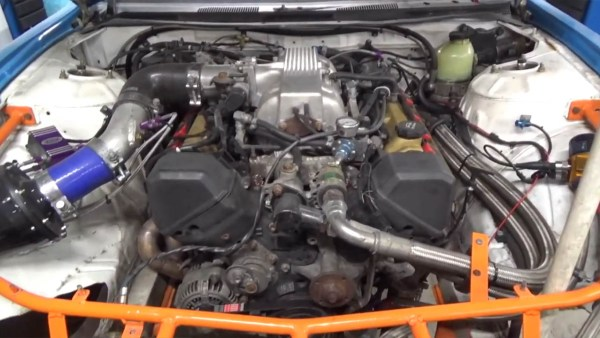 Nissan S14 with a Nitrous 1UZ V8