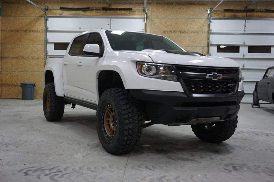 2017 Chevy Colorado with a supercharged LT4 V8