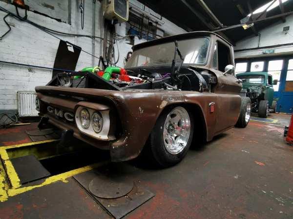Chevy C10 with a Cummins 6BT turbo dieseL