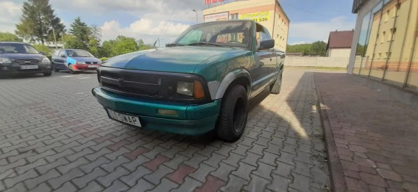 Chevy S10 with a BMW M57 turbo diesel inline-six