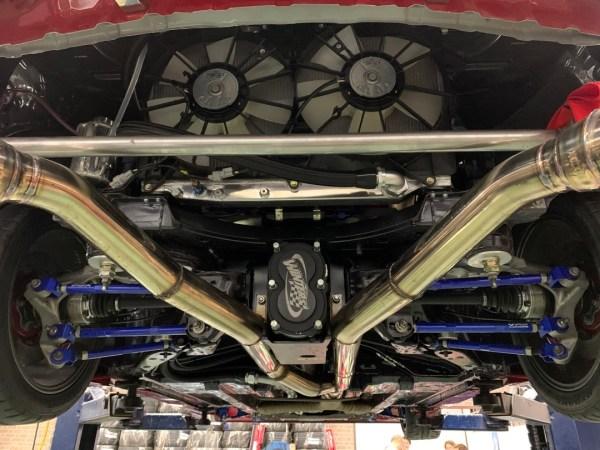 Infiniti Q60 with a Twin-Turbo VR38DETT V6