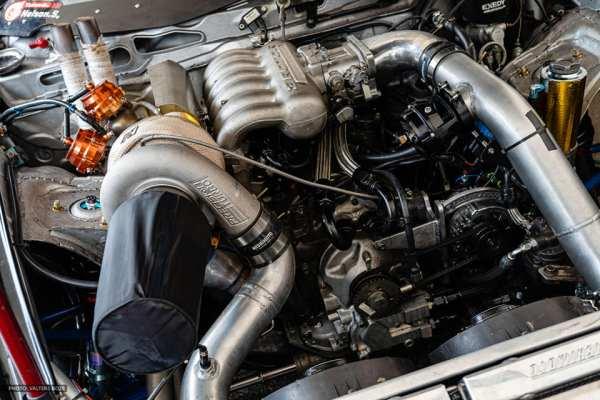 Mazda RX8 with a Turbo 20B Three-Rotor