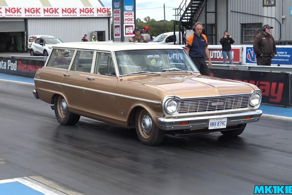 1965 Nova Wagon with a LQ4 V8