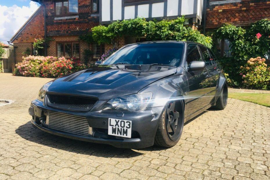 2003 Lexus IS200 with a Turbo 1UZ V8