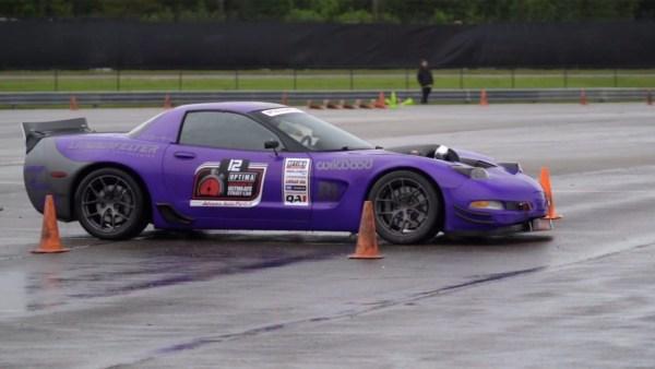 Jake Rozelle's 2003 Corvette with a Lingenfelter LS7 V8