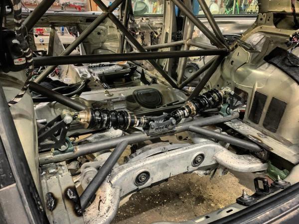 RWD Golf Mk7 with a BMW M60 V8