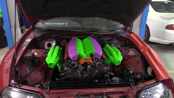 Toyota Supra with a Twin-Turbo 1GZ V12