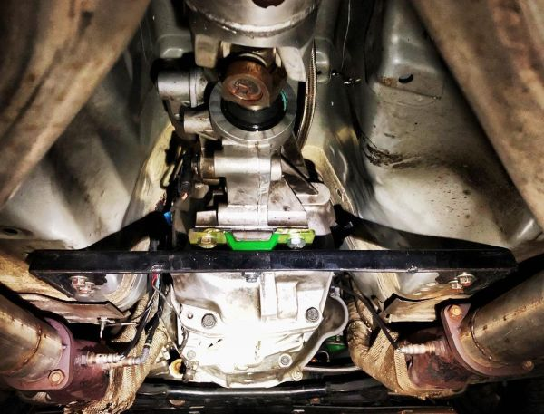 T56 six-speed manual transmission in a Nissan 350Z with a LS3 V8