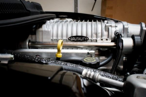 2000 Firebird Formula with a supercharged 346 ci LSx V8