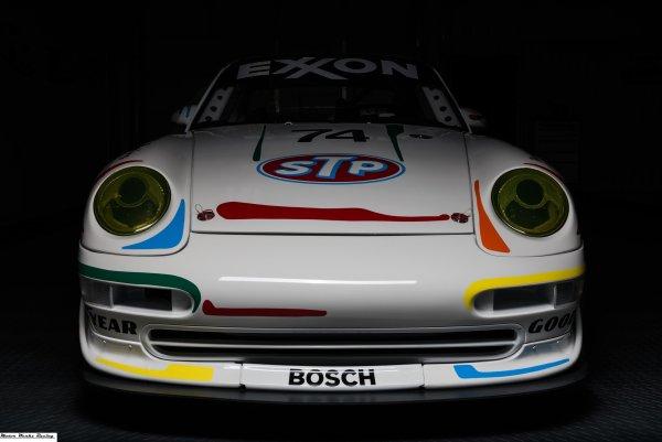 1974 Porsche 911 with a 964 3.6 L flat-six