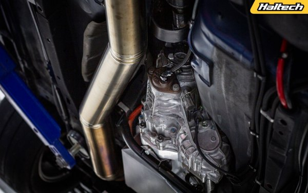 AWD Nissan S15 with a turbo 3.2 L RB-series inline-six