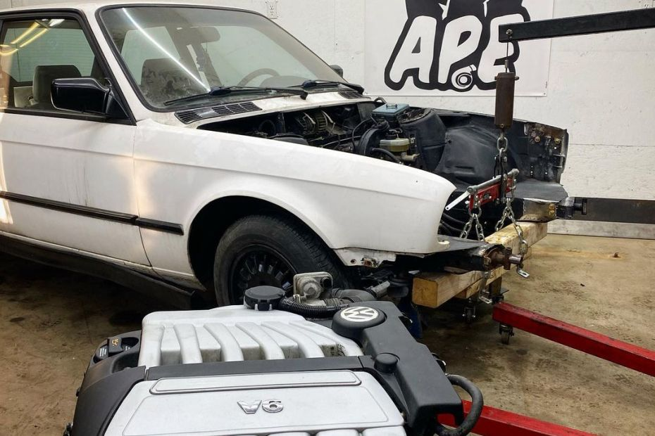 BMW E30 with a 3.2 L VR6