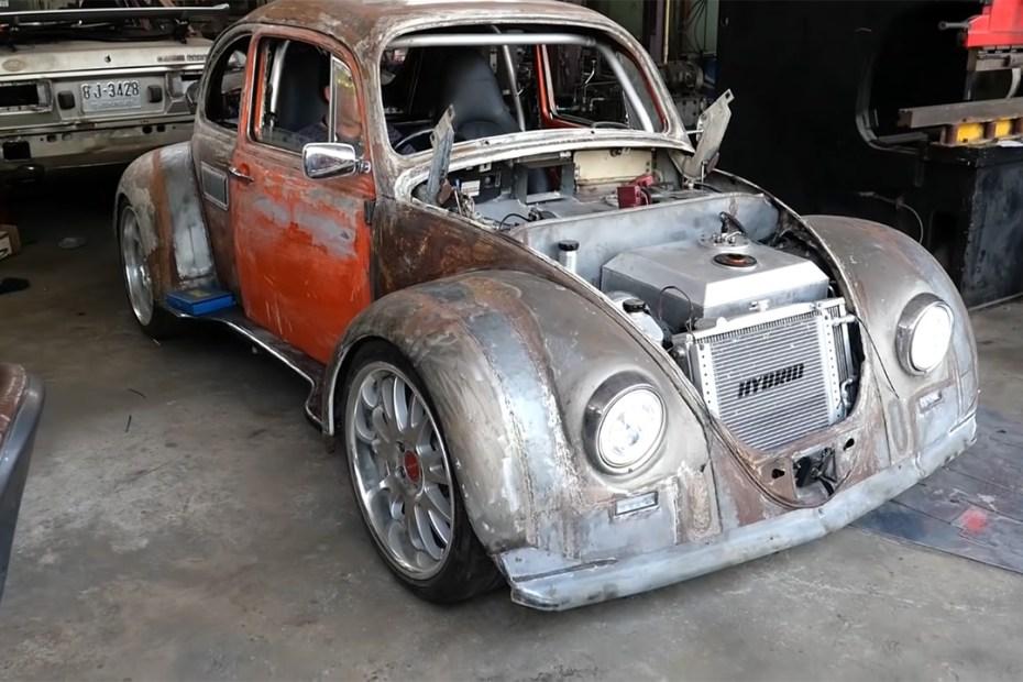 VW Bug with a Porsche Boxster M96 powertrain