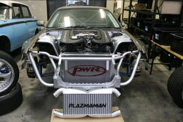 James Pinch's Nissan S15 with a Mercedes Twin-Turbo M177 V8