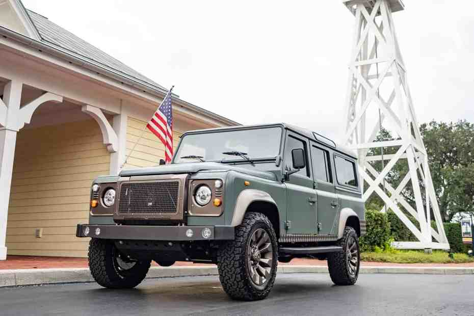 Land Rover Defender with a Supercharged LT4 V8