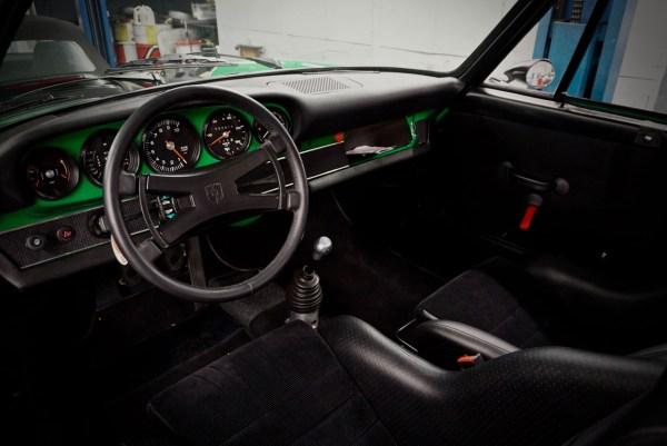 1973 Porsche 911 with a 993 3.6 L flat-six