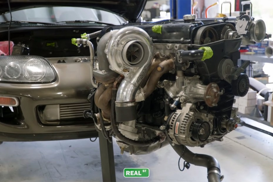 Jay Meagher stroked 2JZ-GTE inline-six