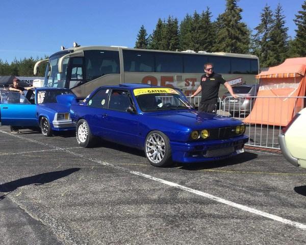Vidar Jødahl's BMW E30 M3 with a 2JZ-GTE inline-six