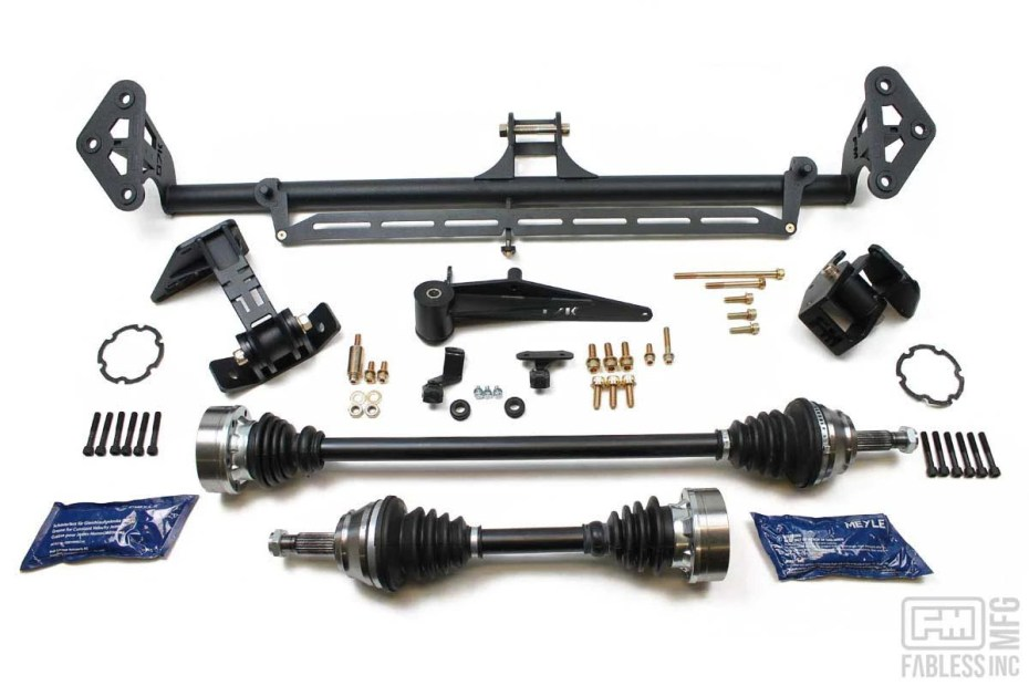 Fabless Manufacturing 07K inline-five swap kit