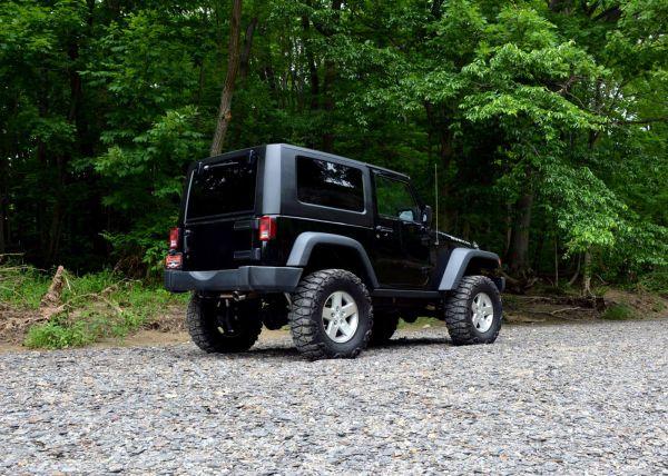 2008 Jeep Wrangler with a 6.1 L Hemi V8