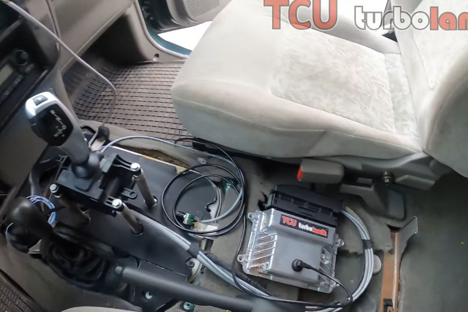 Nissan Patrol with a BMW M57 and Turbo Lamik controlled 8HP70