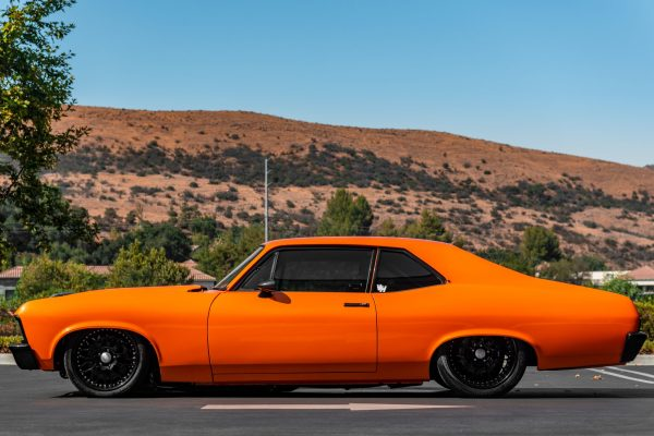 1970 Nova built by Bones Fab with a 454 ci LSX V8
