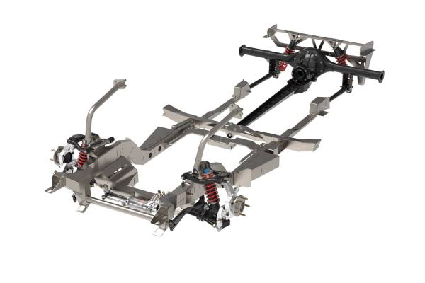 Speedtech Performance Challenger and Cuda front subframe and torque arm rear suspension