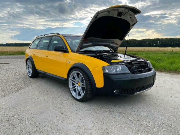 2003 Audi Allroad with a RS6 Twin-Turbo 4.2 L V8
