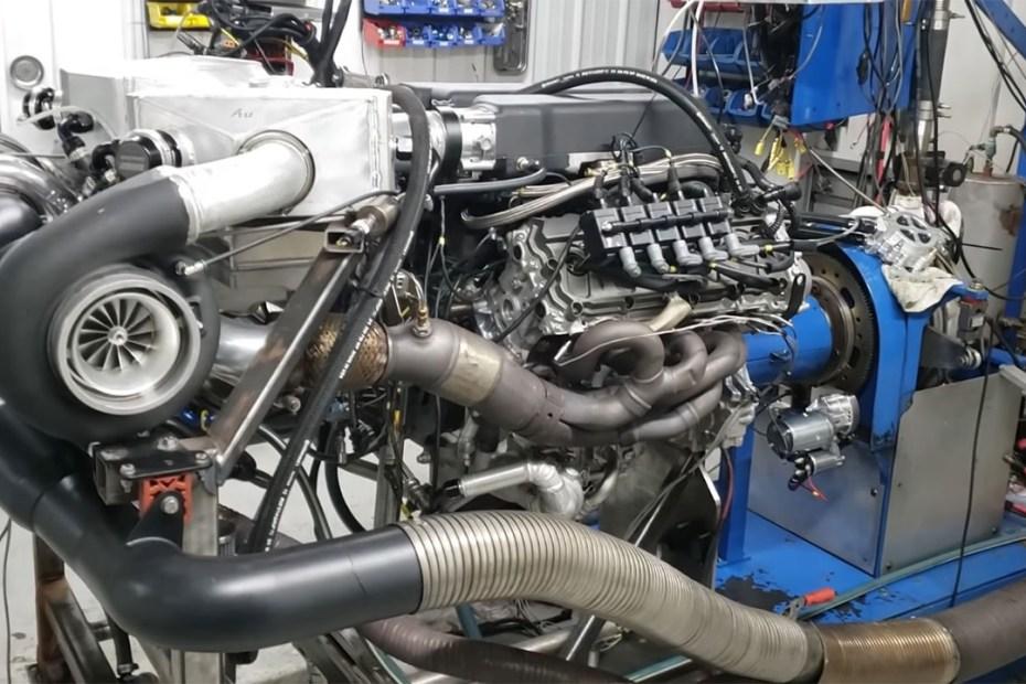 Steve Morris Engines twin-turbo 5.2 L Lamborghini V10