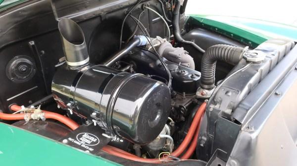 1954 Chevy truck with an Isuzu 4BD1T diesel inline-four