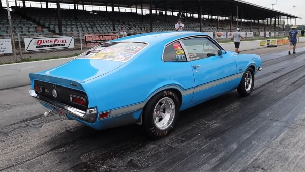 1971 Ford Maverick with a Coyote V8