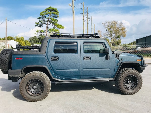 2007 Hummer H2 with a Duramax V8