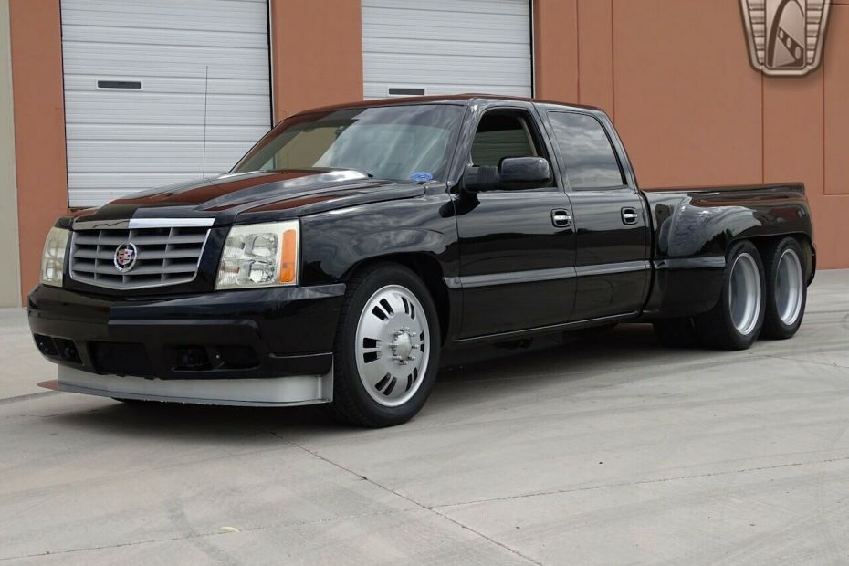 Spectre Performance 2004 Chevy truck with a twin-turbo Cadillac V8