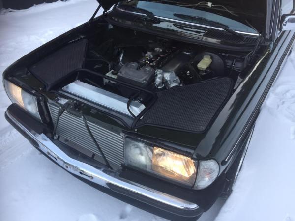 Mercedes W123 built by Valtonen Motorsport with a turbo Barra inline-six