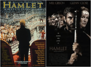 Even the movie posters look to tell a different story.