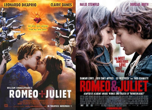 comparing romeo and juliet death scenes The romeo & juliet movie and  some differences are the characters, and scenes  and movie finally, the story ends with the tragic death of romeo and juliet.